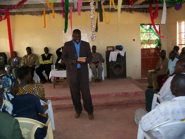 Rev. Timothy teaching